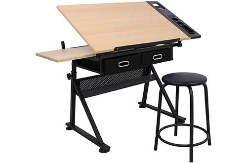 Artist Drawing Tables